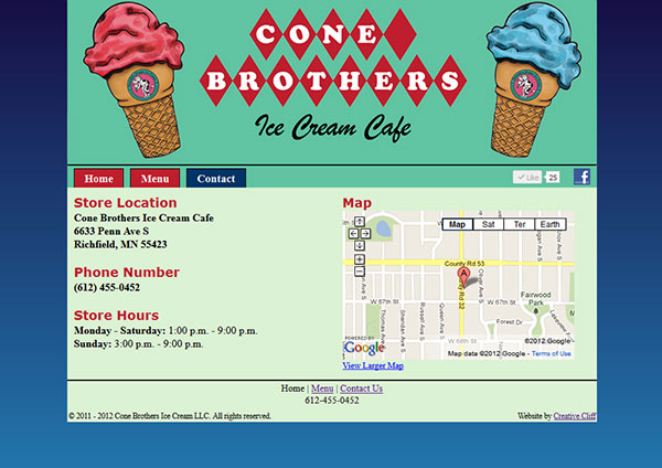 Cone Brothers Contact